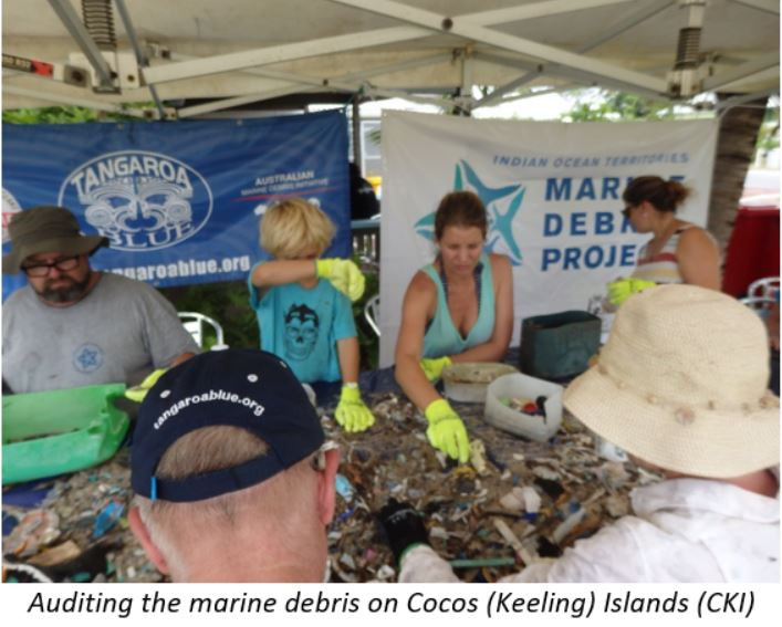 Auditing the marine debris on Cocos Island